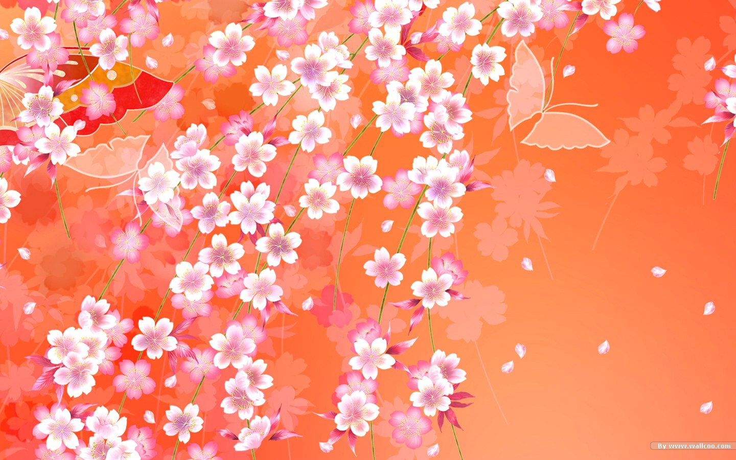 Colors and Patterns in Japanese Kimonos 1440900 NO4 Wallpaper 1440x900
