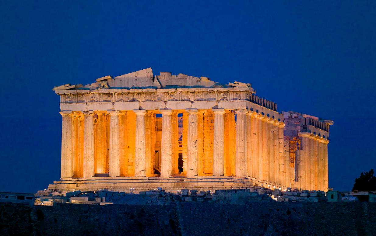 an overview of the parthenon sculptures in athens of ancient greece