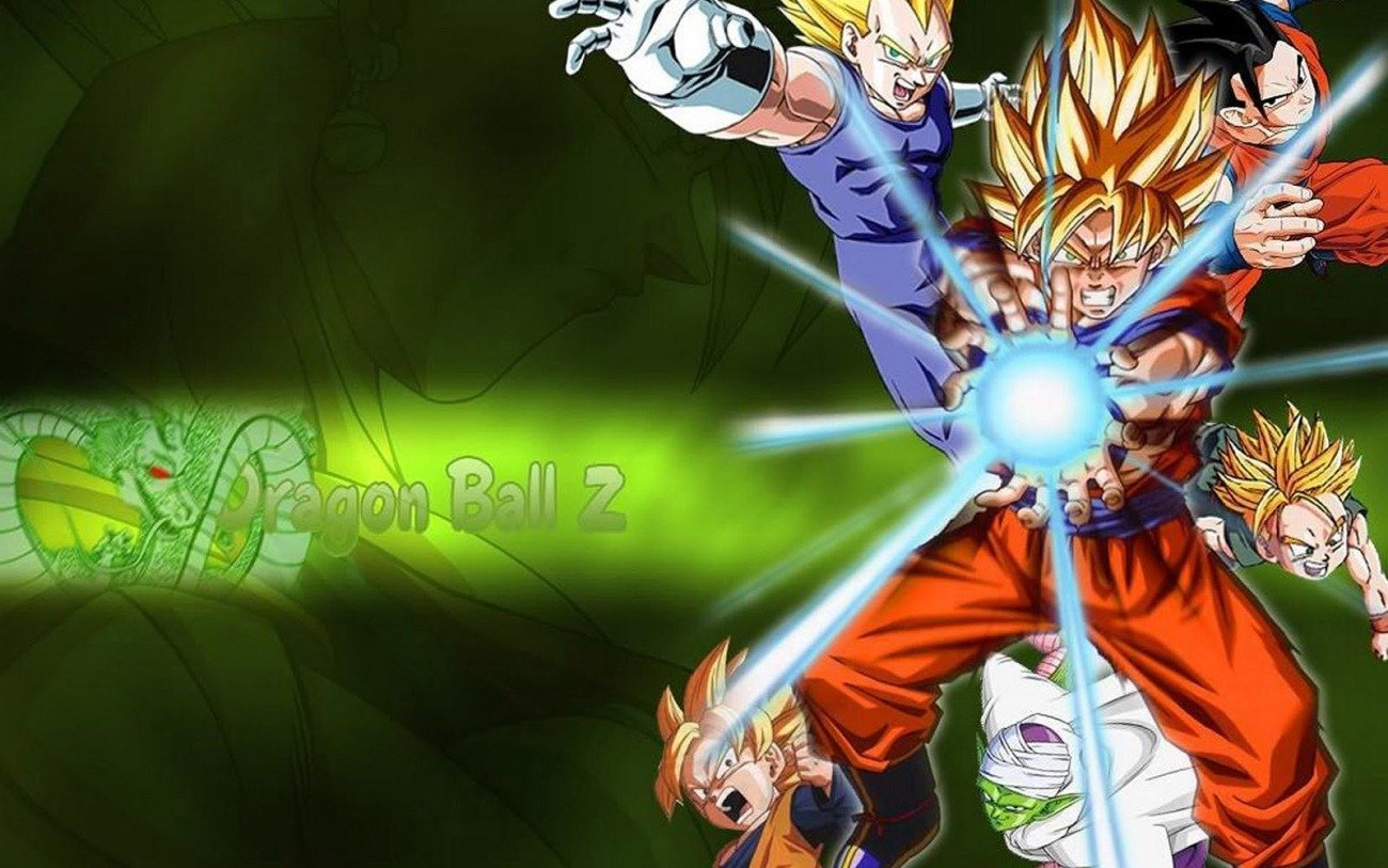 Dragon Ball Z Wallpaper photos of DBZ Wallpaper HD in Your PC by 1300x813
