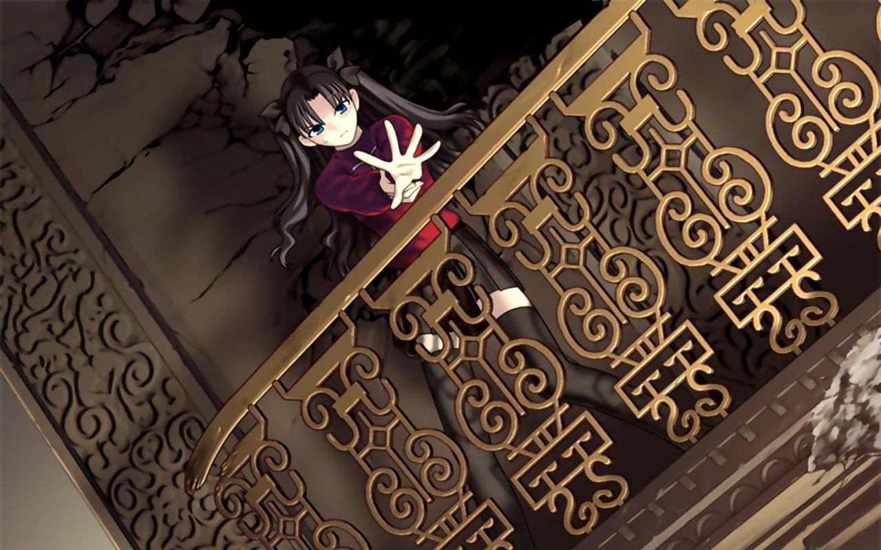 Fate stay night fate series tohsaka rin wallpaper HQ WALLPAPER 1280x800