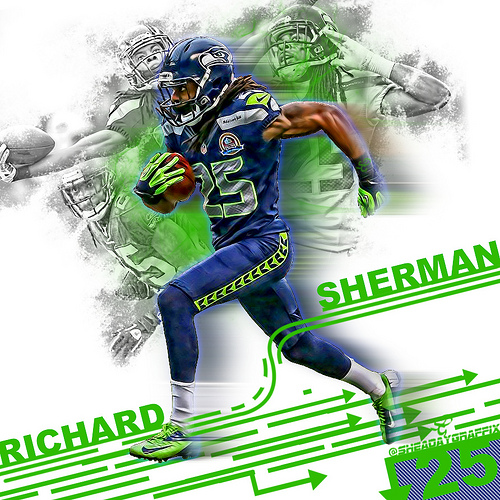 Richard Sherman 2013 Wallpaper Richard sherman 500x500