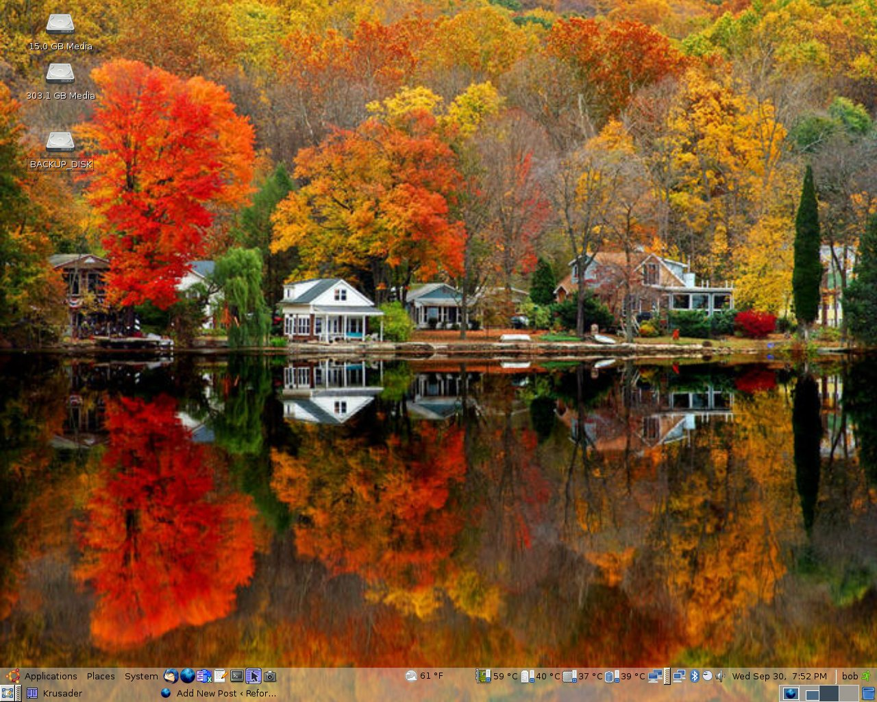 autumn Autumn colours wallpapers wallpaper desktop   26221 1280x1024