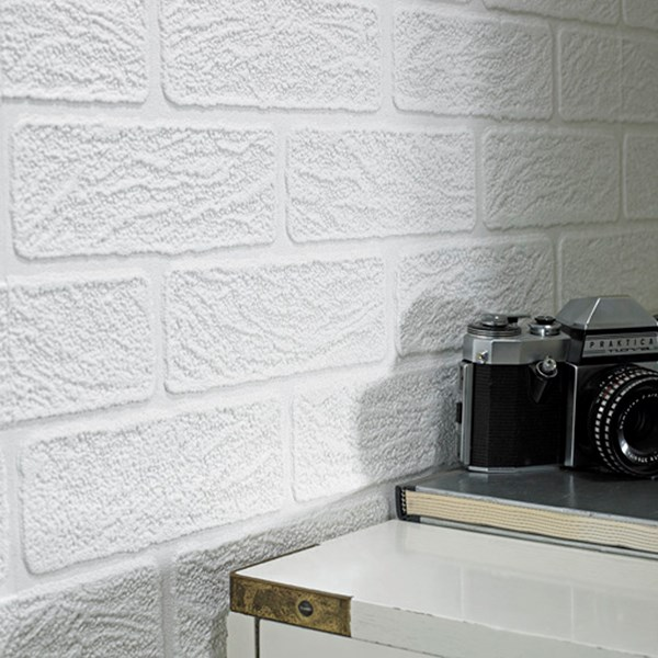 Brick Paintable Wallpaper by Graham and Brown 600x600