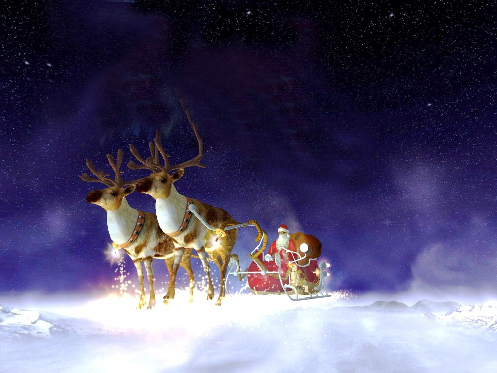 Animated Christmas Hd Wallpapers Cool Widescreen Desktop Backgrounds 1024x768