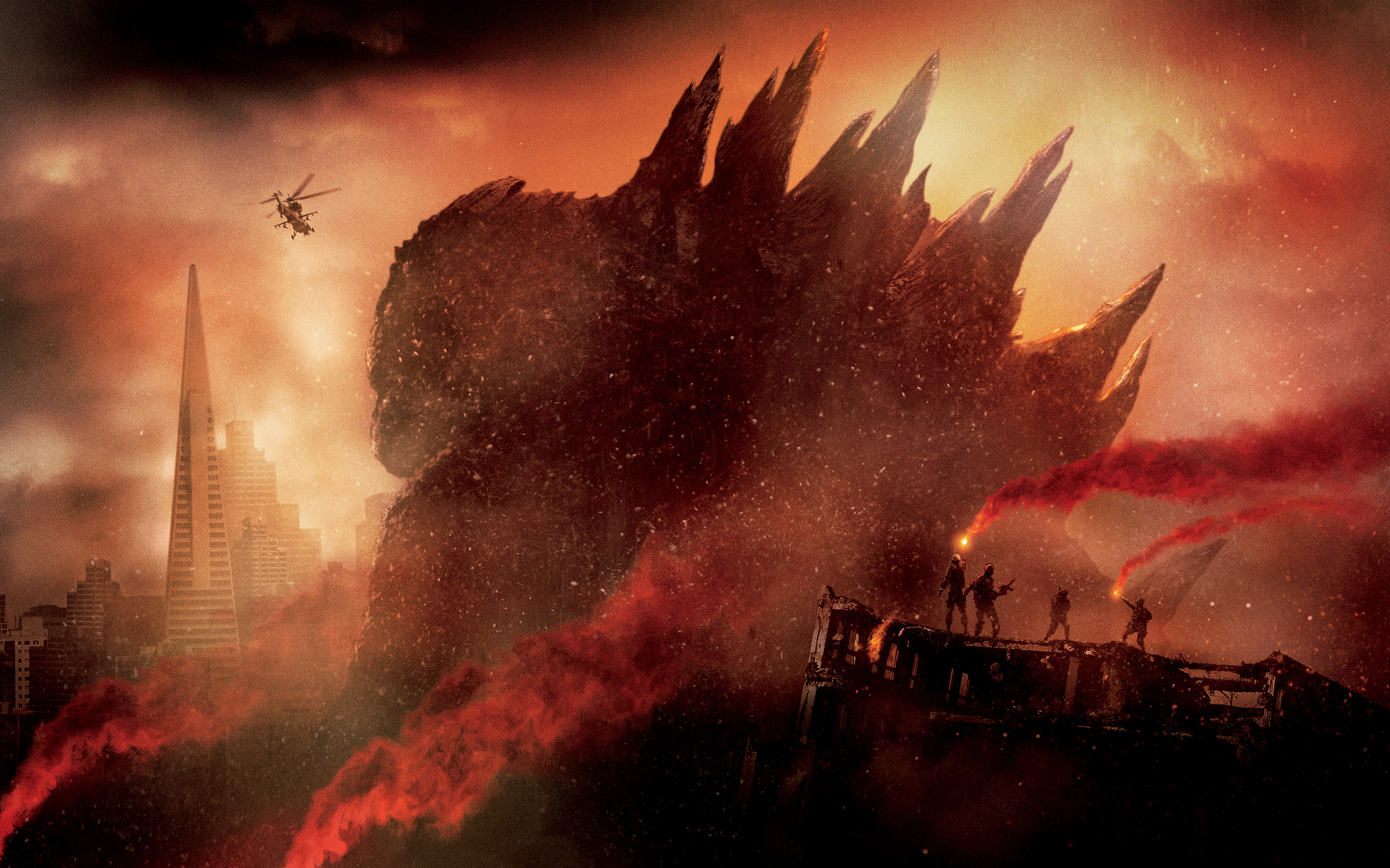 Godzilla Wallpapers HD Wallpapers 2880x1800