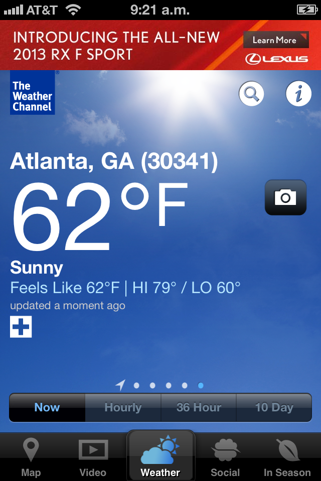 weather channel wallpaper
