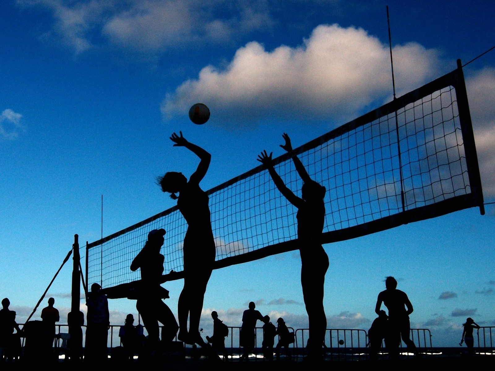Night WallpapersBeach Volleyball Wallpapers Pictures Download 1600x1200