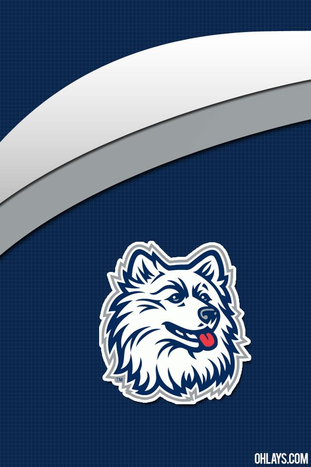 UCONN Huskies iPhone Wallpaper 640x960