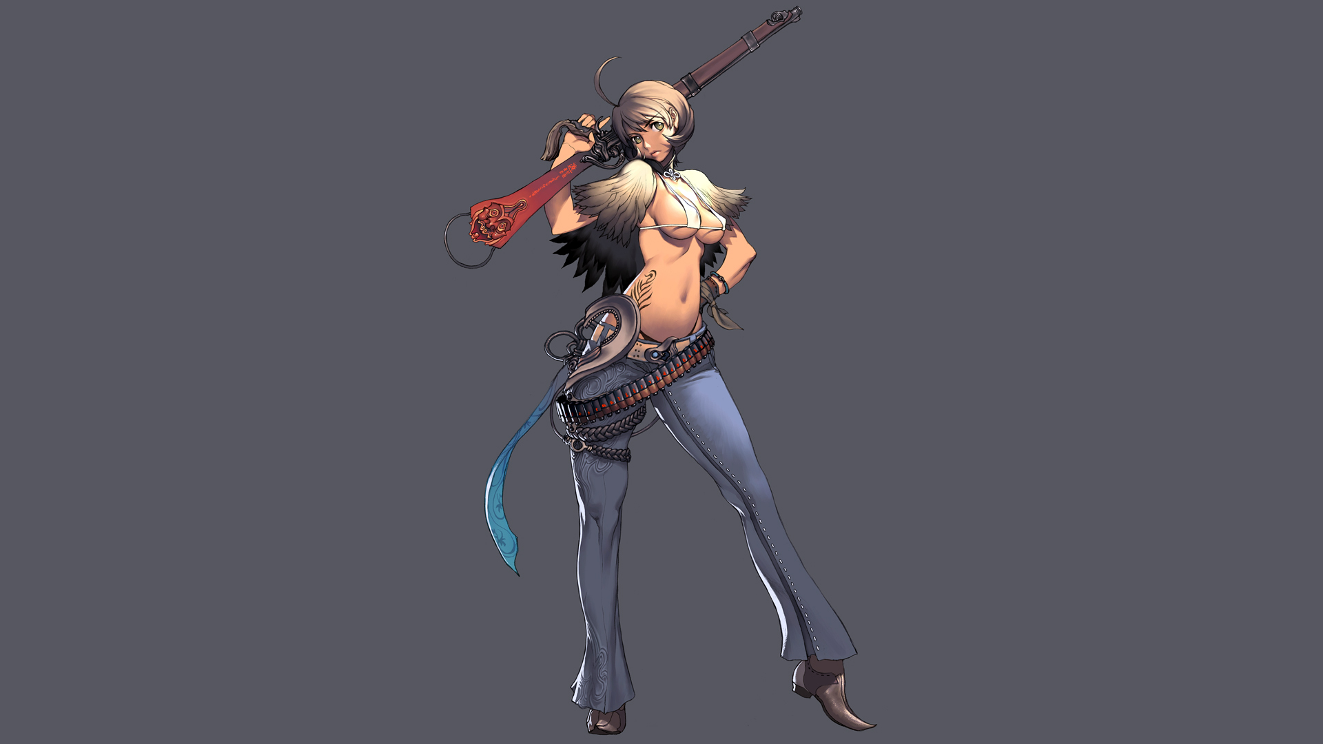 jin sexy blade and soul anime girls hd 1080p 1920x1080 wallpaper 1920x1080