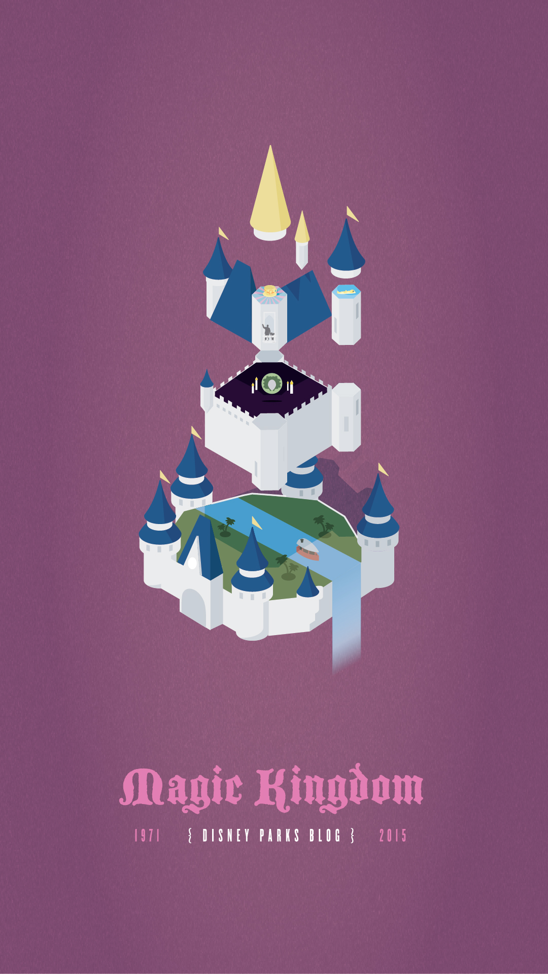 Magic Kingdom Parks Anniversary 1080x1920