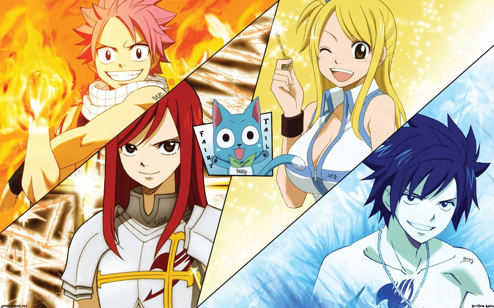 Fairy Tail Wallpaper Anime Download 1600x1000