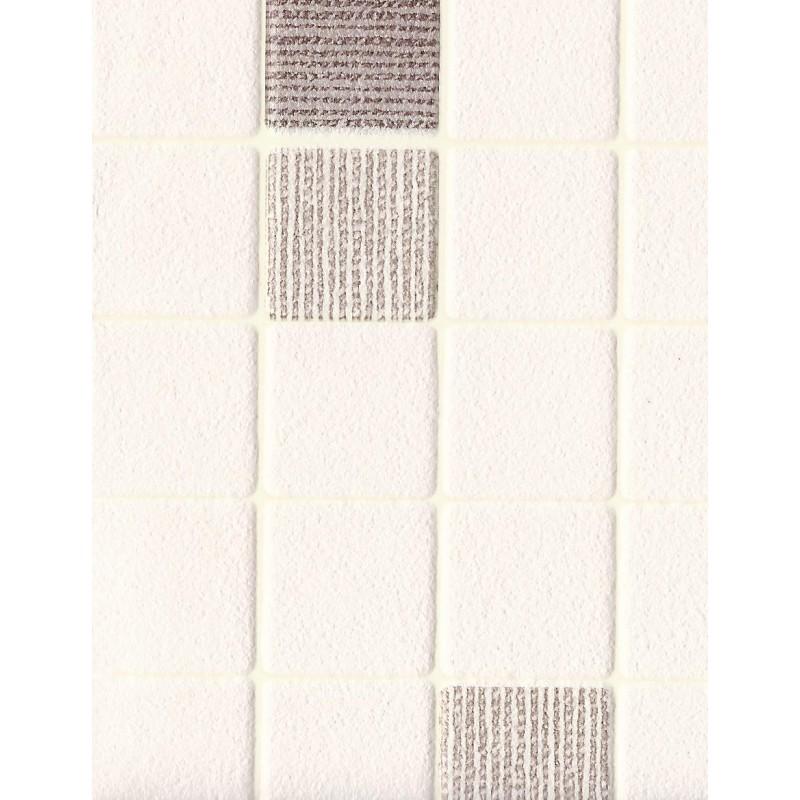 Tile Effect Mini Mosaic Brown Wallpaper by AS Creation 6077 20 800x800