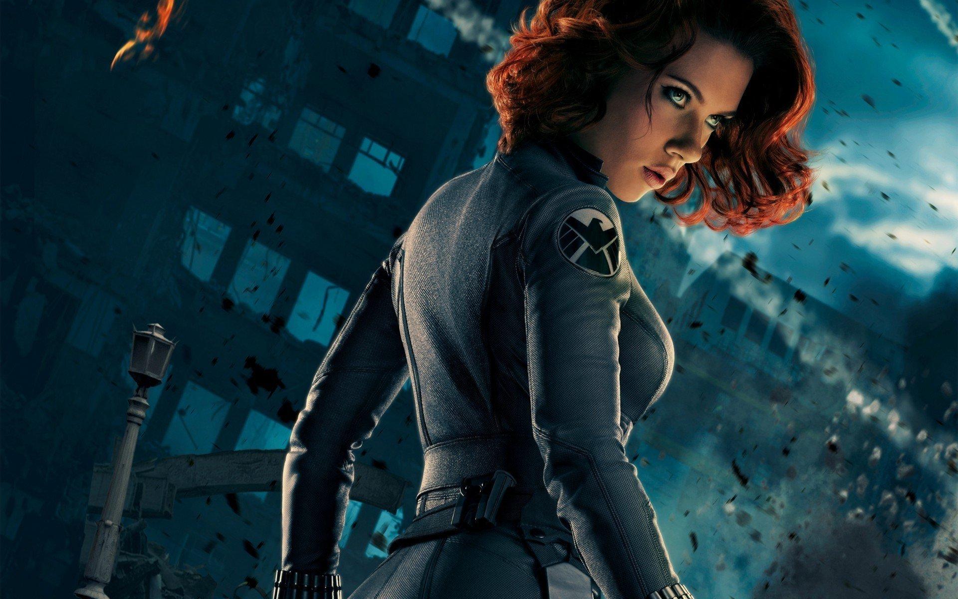 Black Widow   The Avengers Wallpaper 4711 1920x1200