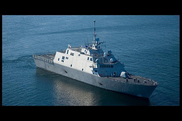 USS Freedom LCS 1 Wallpaper 600x400