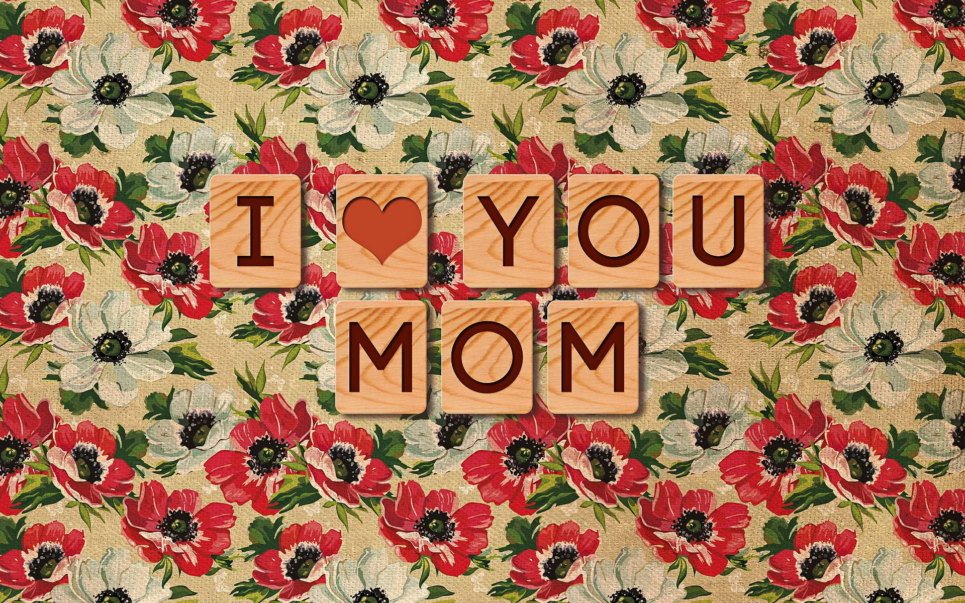 I Love You Mom Wallpapers 1920x1200