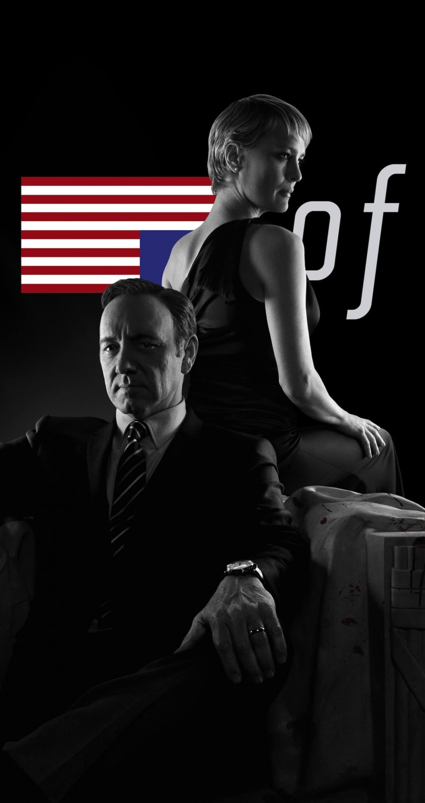 Download House Of Cards Black White Hd Wallpaper For Iphone 6