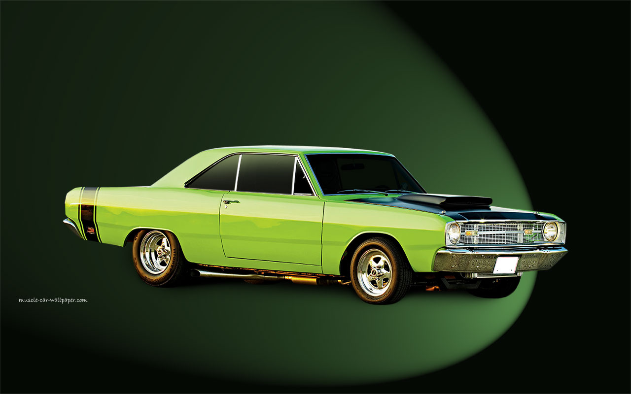 1969 Dodge Dart GTS Wallpaper   Right Side View 1280 05 1280x800