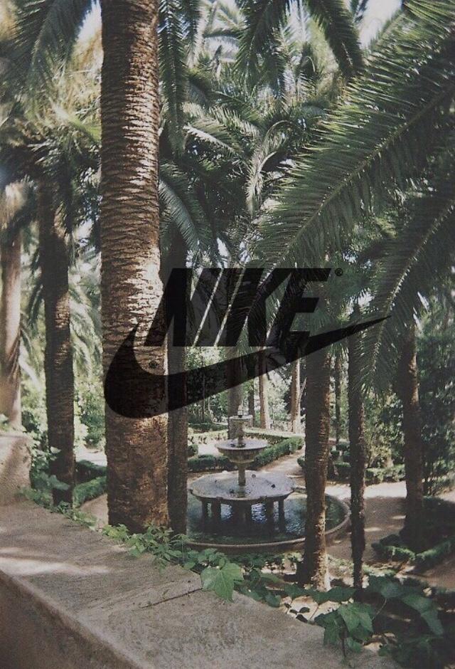 Nike Logo Galaxy