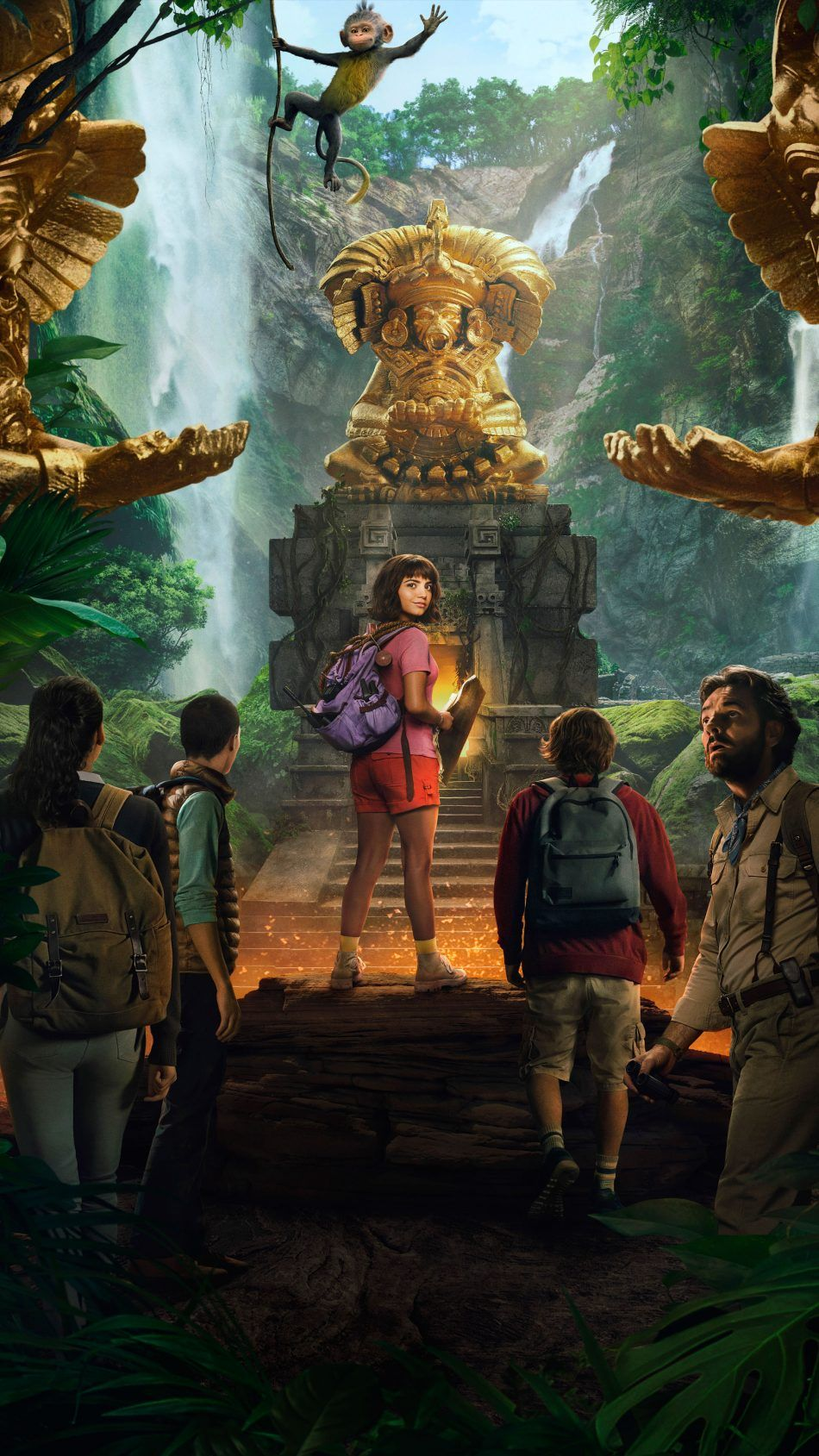 Isabela Moner In Dora And The Lost City of Gold 2019 Military 950x1689