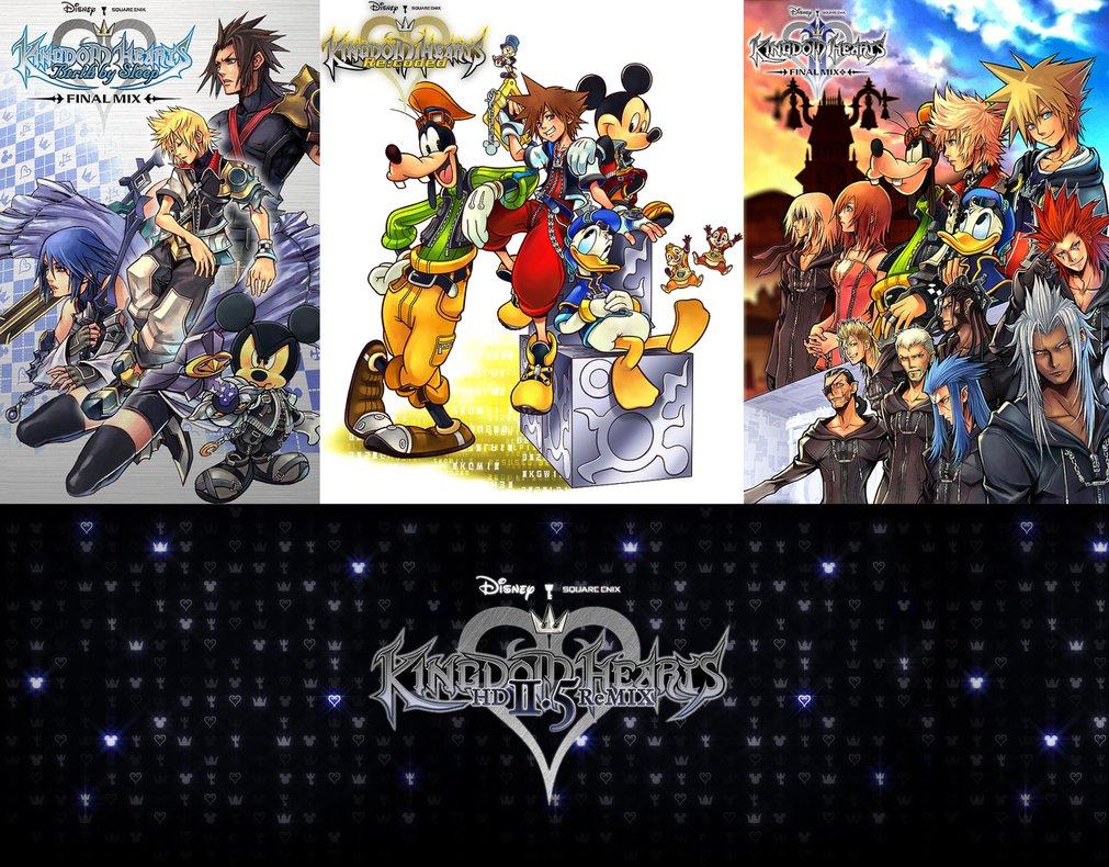 Kingdom Hearts 2 5 Wallpaper Kingdom Hearts hd 2 5 1011x790