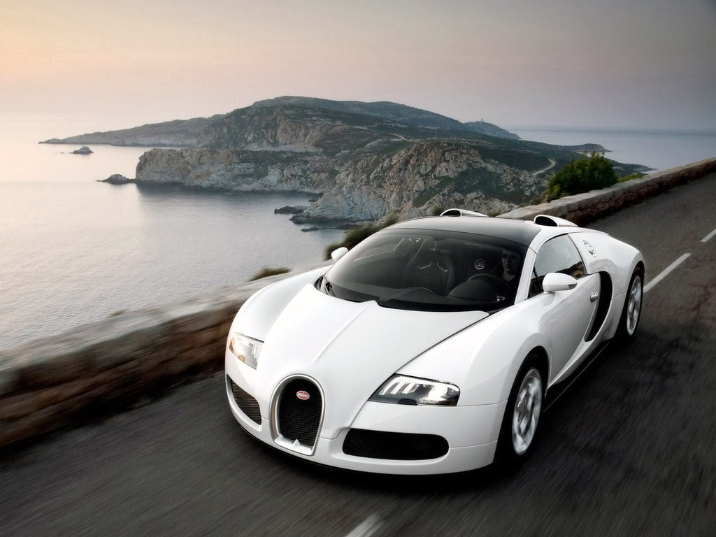 Front View of Bugatti Veyron 2014 Car Wallpaper Coupe body and power 1024x768