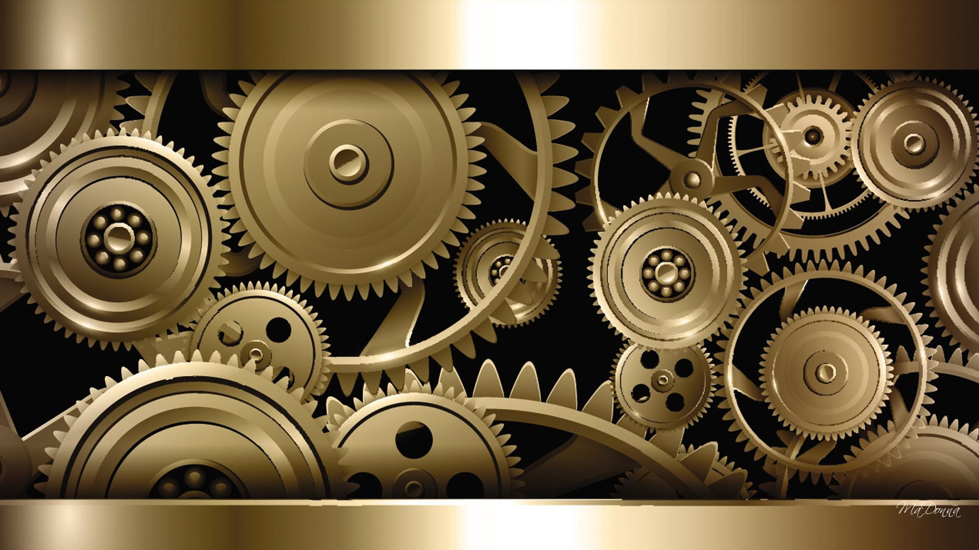Steampunk Gears Wallpaper - WallpaperSafari