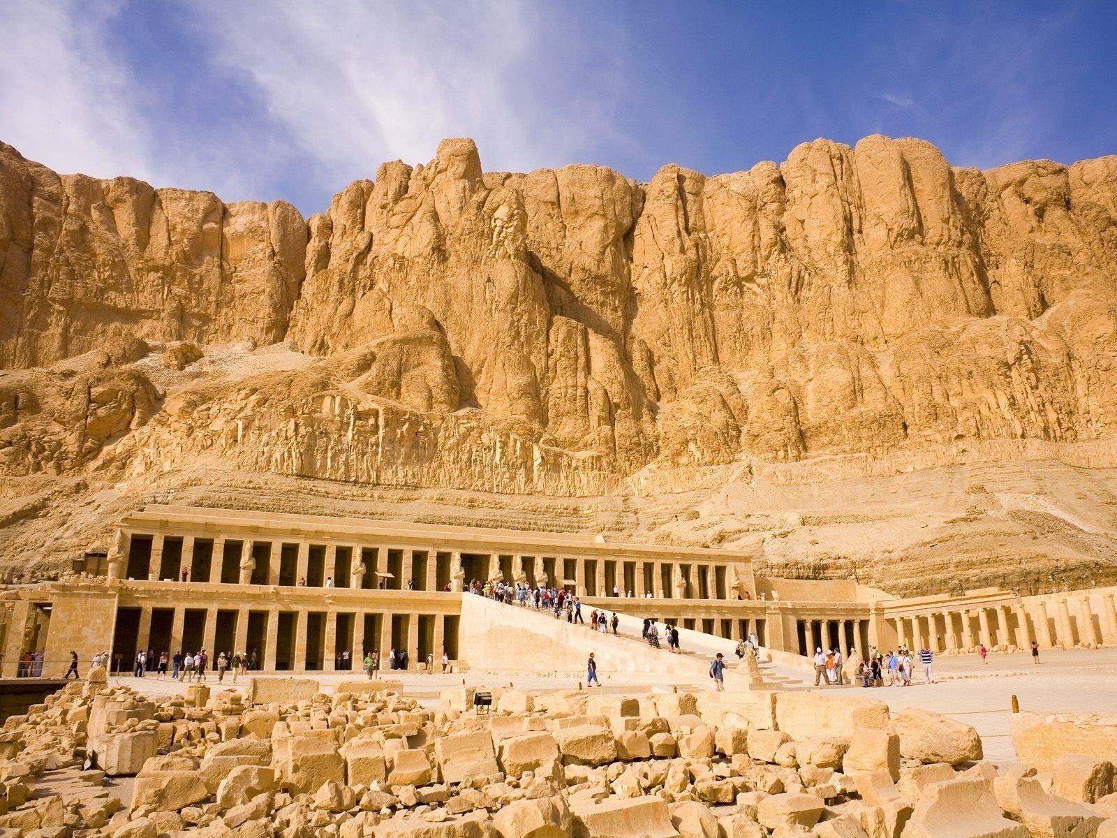 Mortuary Hatshepsut Temple HD Wallpapers 1600x1200