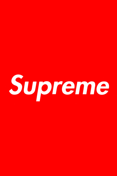 Supreme iPhone Retina Wallpaper [HD] By Yours Truly 500x750