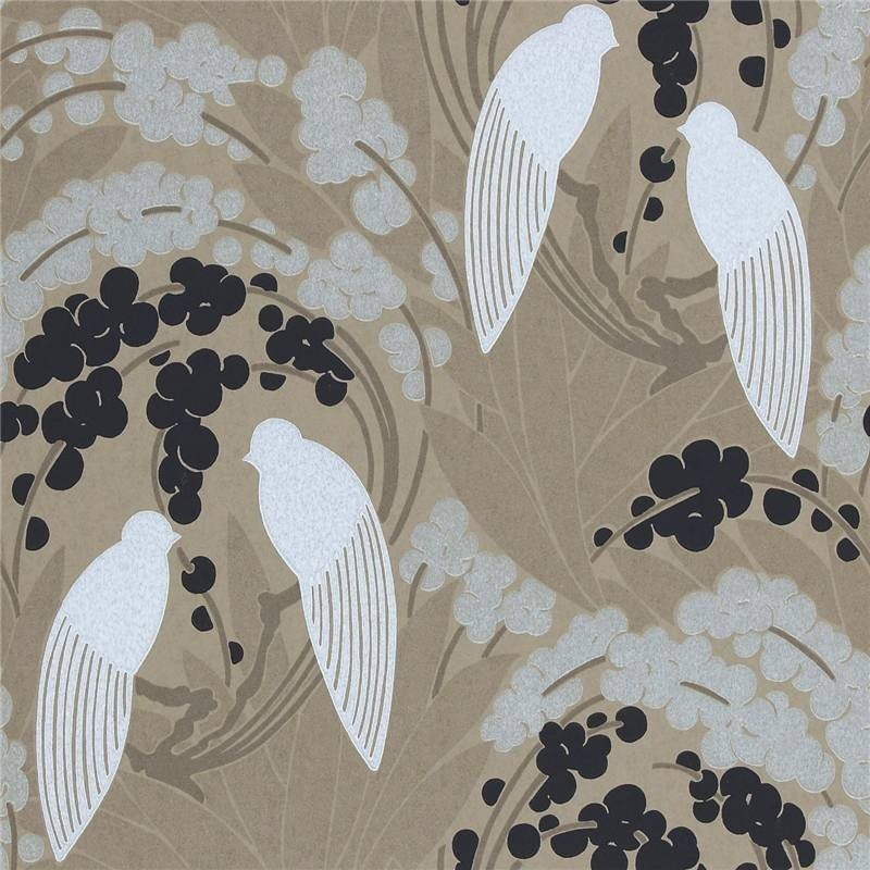 Home Brown Gold Black White   60124   Love Birds   Boutique 800x800