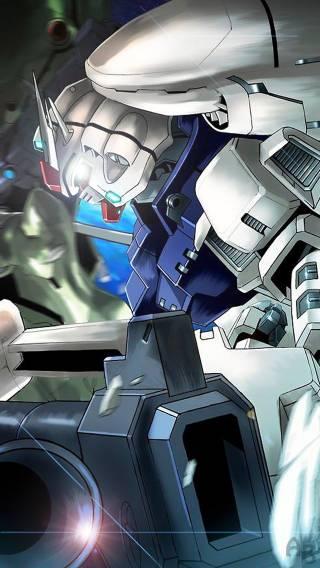 Gundam 006 Anime   iPhone Wallpaper 320x568