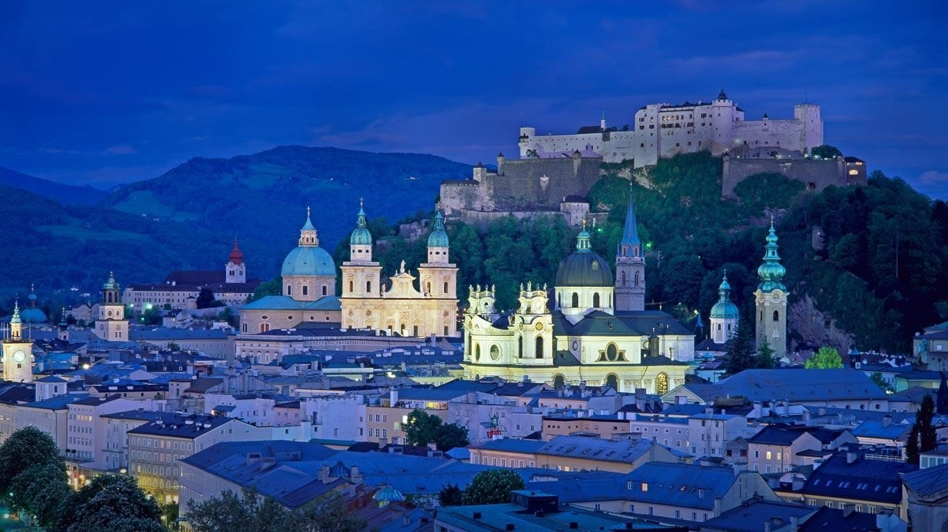 7 Salzburg HD Wallpapers Background Images 1366x768