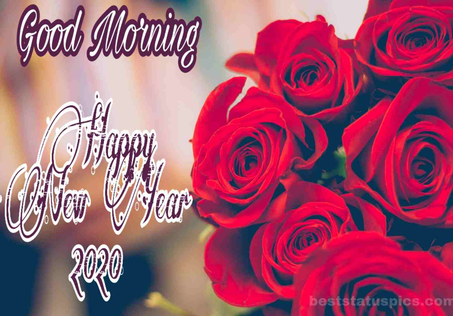 Good Morning Happy New Year 2020 Whatsapp Dp Status Images Best 1550x1080