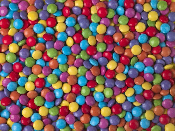 Multi Colored Smarties Sweets Posters Prints By Assaf Frank