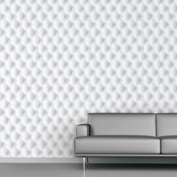 trompe l oeil leather wall paper exceptional wallpaper reproducing 600x600