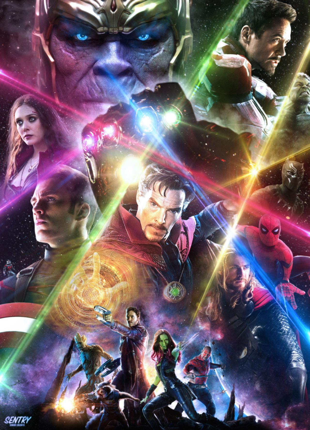 Infinity War   Junior Logoifiti Marvel Cinematic 1280x1777