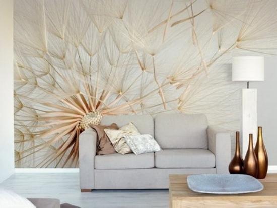 13 Kreative Ideen Fr Wandgestaltung Im Wohnzimmer Mit Blumenmotiven