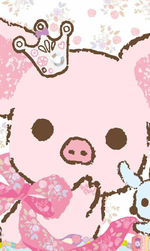 Piggy Kawaii Live Wallpaper for android Piggy Kawaii Live Wallpaper 480x800