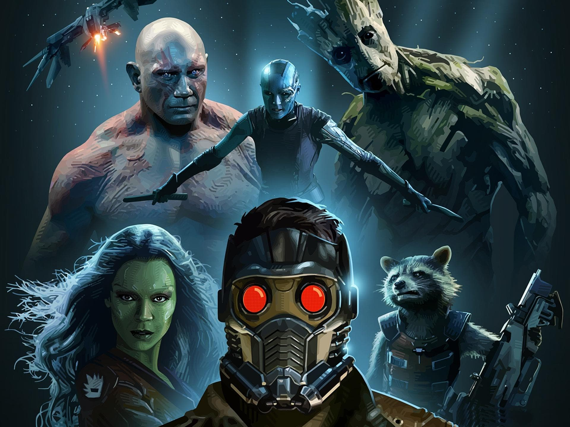 Free Download Guardians Of The Galaxy Hd Desktop Wallpapers