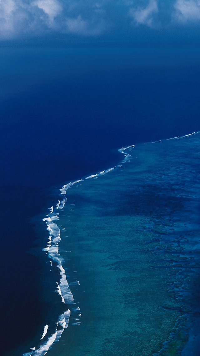 Caribbean Sea iPhone 5s Wallpaper Download iPhone Wallpapers iPad 640x1136