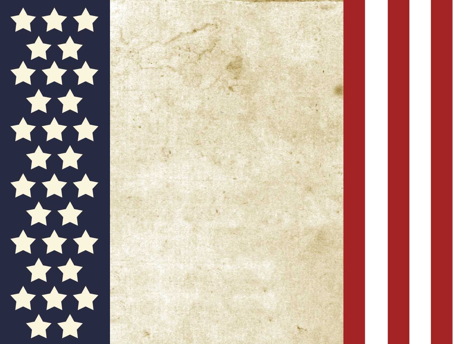 patriotic american flag Backgrounds for PowerPoint Templates 1450x1100
