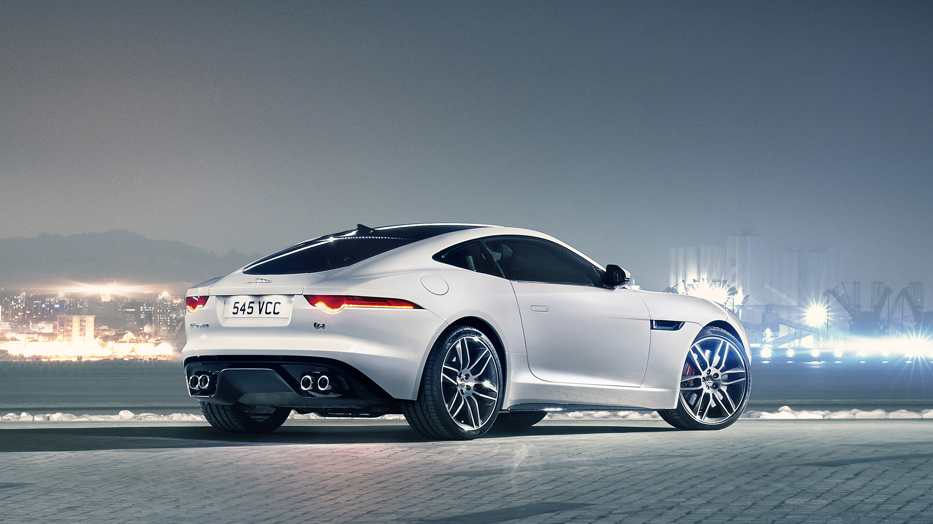 2015 Jaguar F Type R Coupe Wallpapers 1920x1080