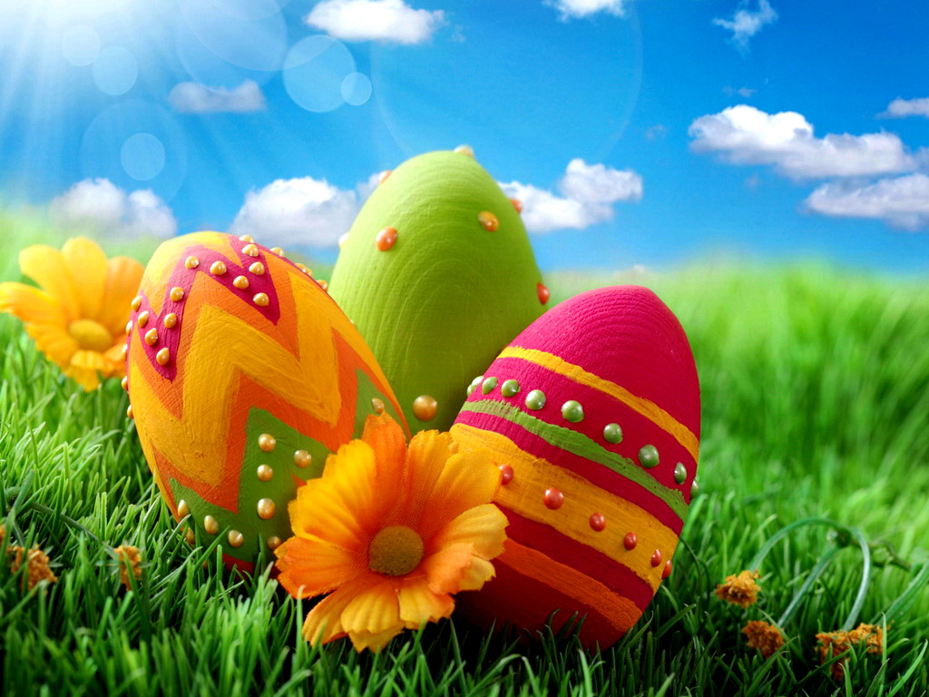 Happy Easter   Happy Easter All My Fans Wallpaper 1024x768