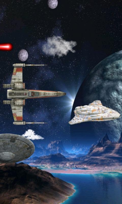 Star Space Wars Live Wallpaper   screenshot 480x800