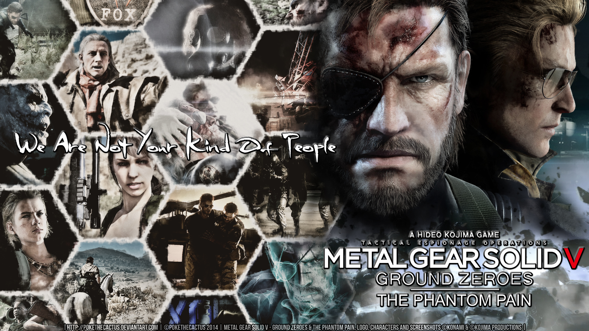 Not Your Kind Of People   MGSV Wallpaper by PokeTheCactus on 1920x1080