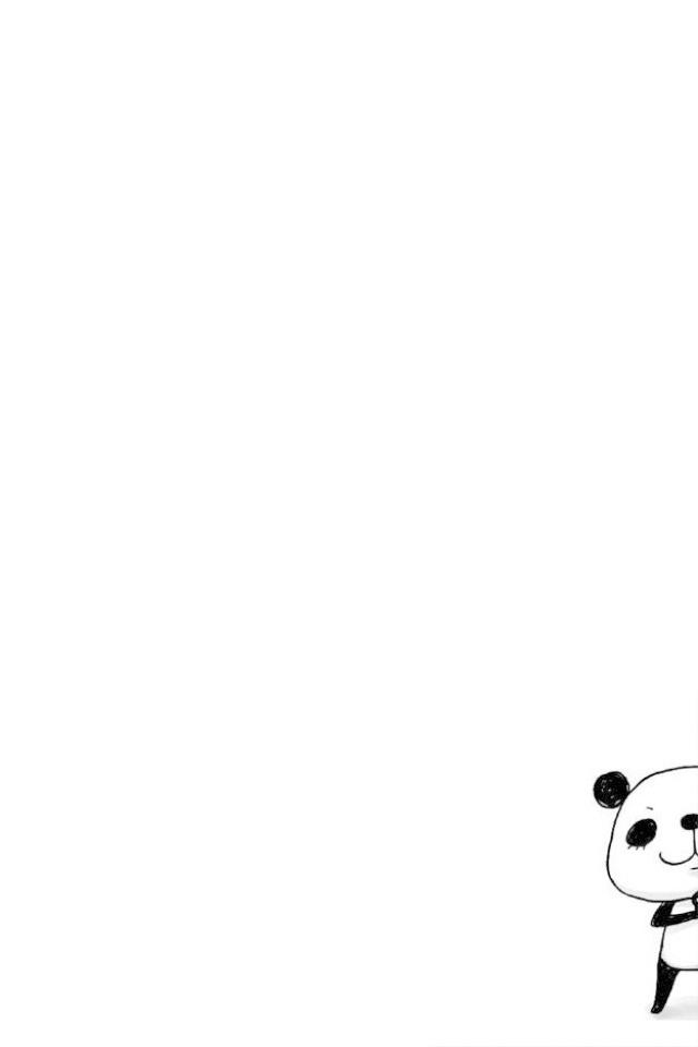 Panda iPhone 4 Wallpaper and iPhone 4S Wallpaper GoiPhoneWallpapers 640x960