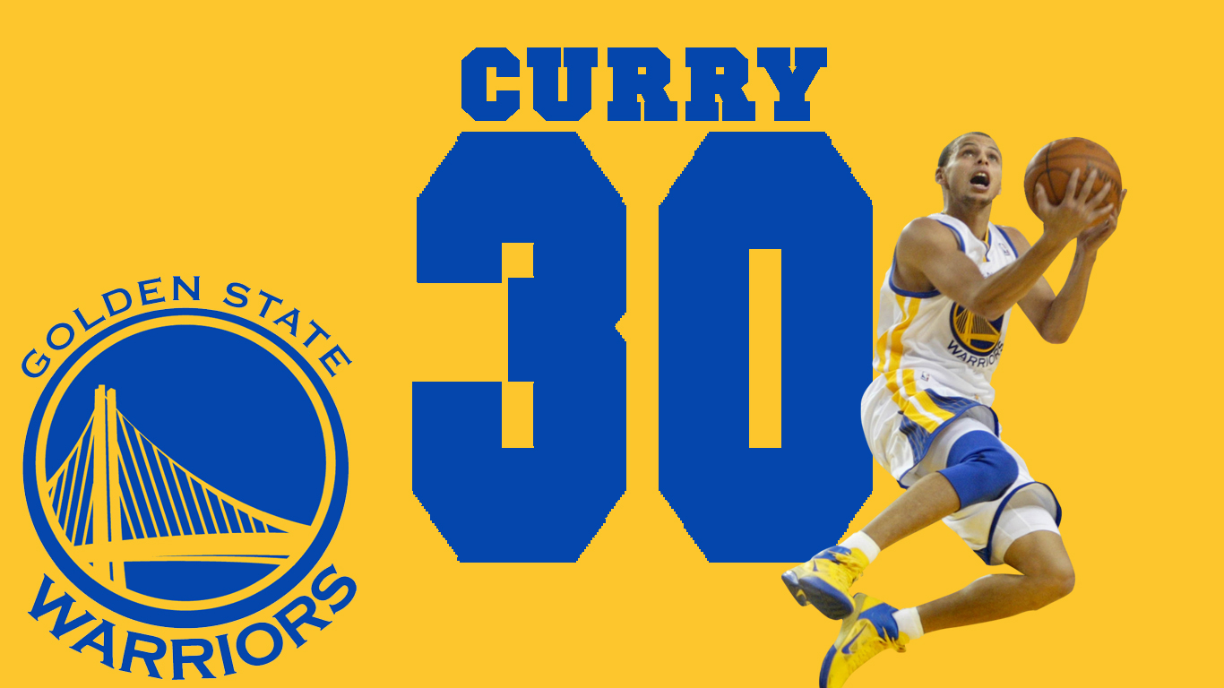 Stephen Curry Wallpaper Warriors The Art Mad Wallpapers 1366x768