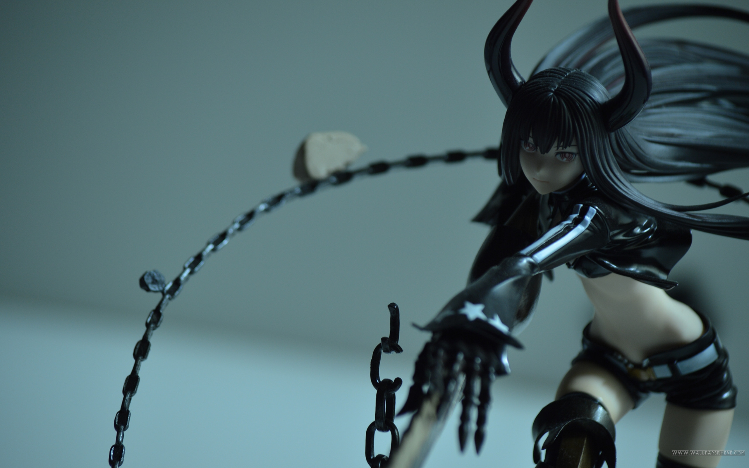 Free download 3D CG Anime Black Rock Shooter Desktop and mobile