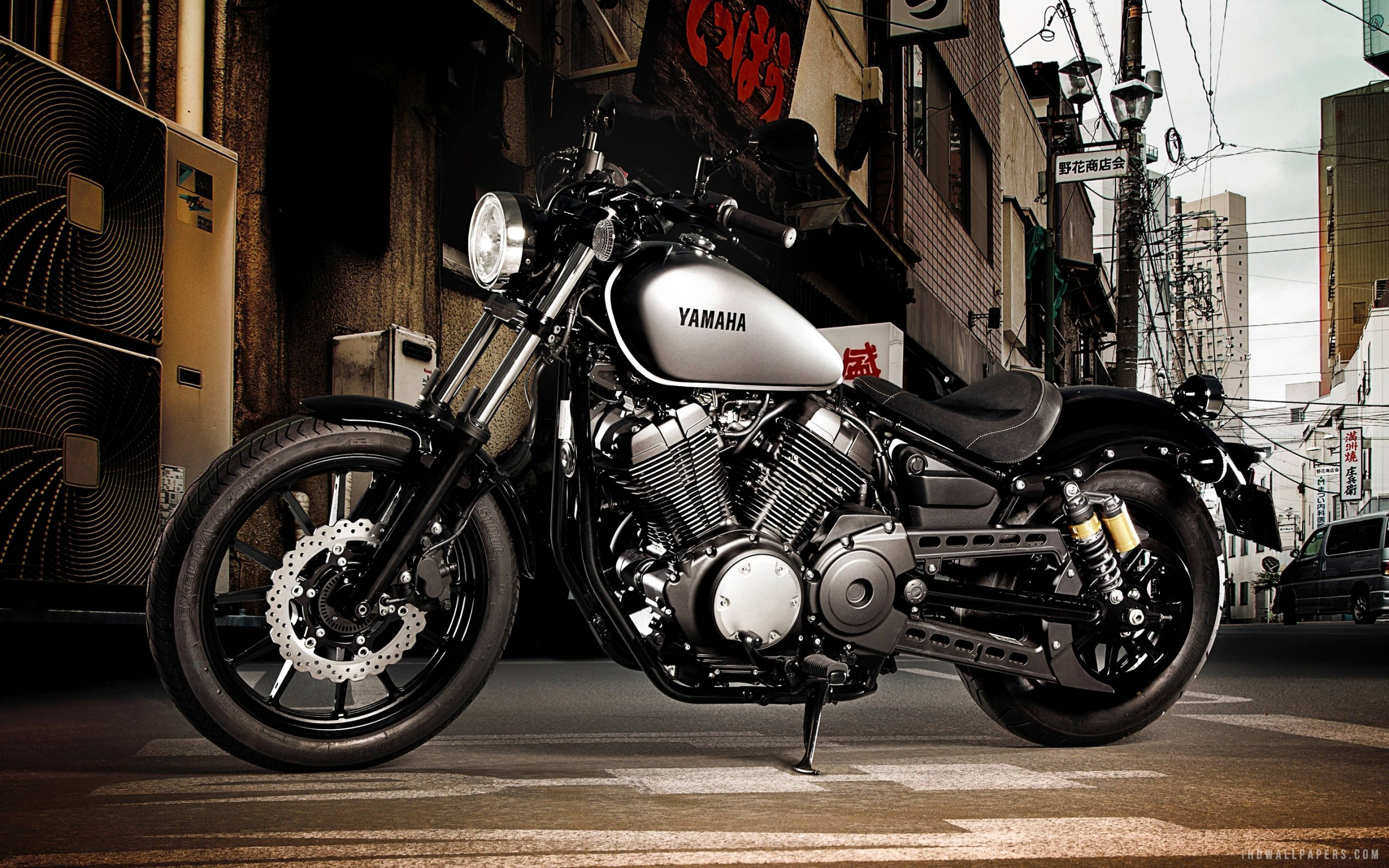 Yamaha Bolt XV950 2015 HD Wallpaper   iHD Wallpapers 2560x1600