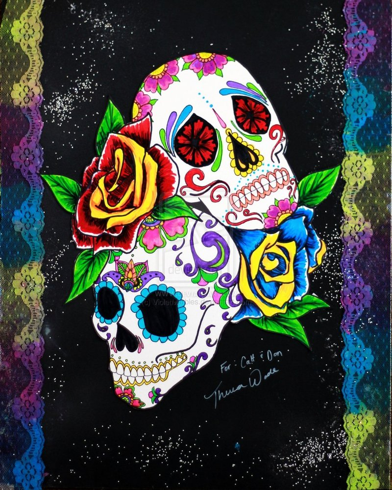 Related to Day of the Dead Sugar Skull Wallpaper   Black Gold 800x998