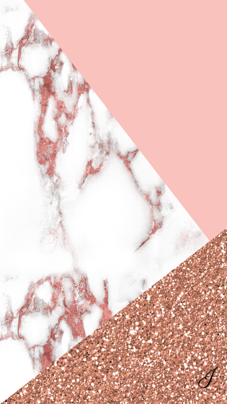 Pink marble iPhone Wallpaper My IPhone Pinterest 750x1334